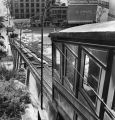 View down the track of Angels Flight