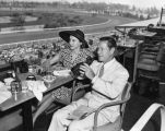 Joe E. Brown at the races