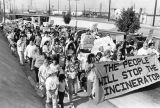 Toxic incinerator protests
