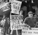 Jewish Defense League demonstrate against Jackson