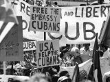 Cuban protestors