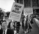 Protesting the Bolshoi Ballet