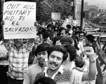 Salvadorans against U.S. aid