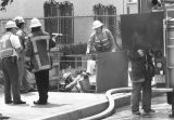 Gas main rupture forces evacuation