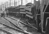 Train derailed, Los Angeles
