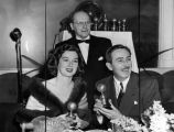 Walt Disney receives Golden Globe for Bambi