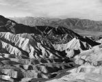 View of Death Valley Badlands from Zabriskie Point