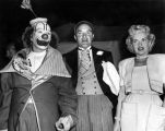 Betty Grable, Bob Hope and Bing Crosby at the circus
