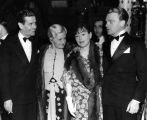 James Cagney and Dorothy Parker at the Cocoanut Grove