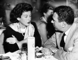 Hedy Lamarr dines at Ciro's
