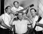 Keaton with the Kingston Trio