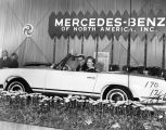Mercedes at Los Angeles Auto Show