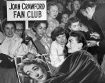 Joan Crawford fan club at premiere
