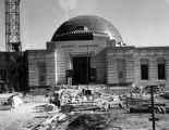 Griffith Observatory under construction