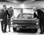 Mercury Comet at Los Angeles Auto Show