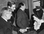 Errol Flynn with jurors