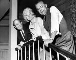 Lyle Talbot, Penny Singleton and Paul Ford