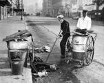 Cleaning up in  Hollywood after V-J Day