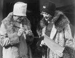 Marion Davies and Suzanne Lenglen