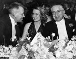 Norma Shearer with Louis B. Mayer