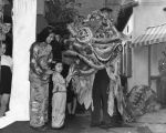 Chinese New Year celebrations, 1941