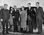 Madame Chiang Kai-shek and Chinese consul