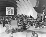 Madame Chiang Kai-shek at the Hollywood Bowl