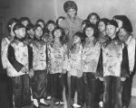 Nancy Wilson and the Hong Kong Refugee Children's Choir