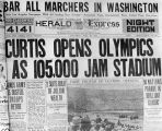 Headline, 1932 Olympic Games