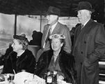Elmer Boeseke and friends at Santa Anita Racetrack