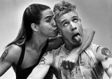 Anthony Kiedis and Flea