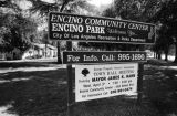 Encino Community Center, Encino Park