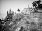 Summerland oil wells on the hillside