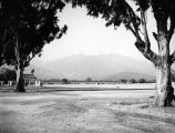 Santa Anita Racetrack and parking lot