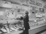 Ethel buying meat