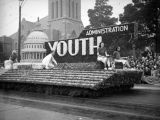 """National Youth Administration,"" 51st Annual Tournament of Roses, 1940"