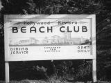 Hollywood Riviera Beach Club sign