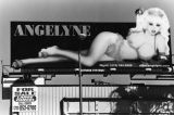 Angelyne in a bikini, Hollywood billboard