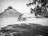Barn and cart at Paramount Ranch