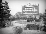 Griffith Park playground and Plunge sign