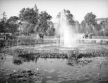 Exposition Park fountain