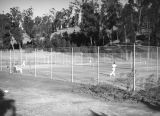 Tennis courts in Elysian Park
