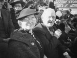 Ethel Schultheis' parents at 1938 Rose Parade