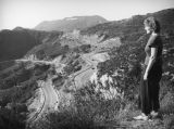 Ethel Schultheis and the Hollywoodland sign