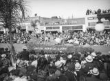 United Service Clubs float, 1938 Rose Parade