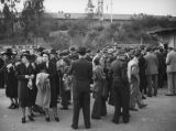 Buying tickets, 1938 Rose Bowl