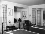 Schultheis' bedroom, doll and window seat