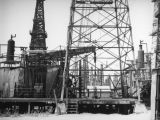 Drawworks in the Signal Hill oil field