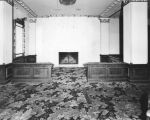 Ambassador Hotel, main lobby and fireplace