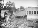 Flood destruction in Pasadena